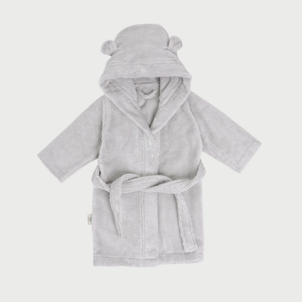 Organic Cotton Hooded Robe