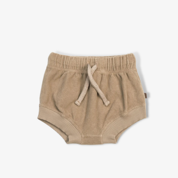 Organic Terry Bloomers in Fawn