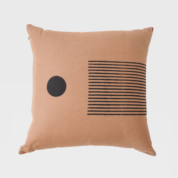 Freda Block Print Pillow