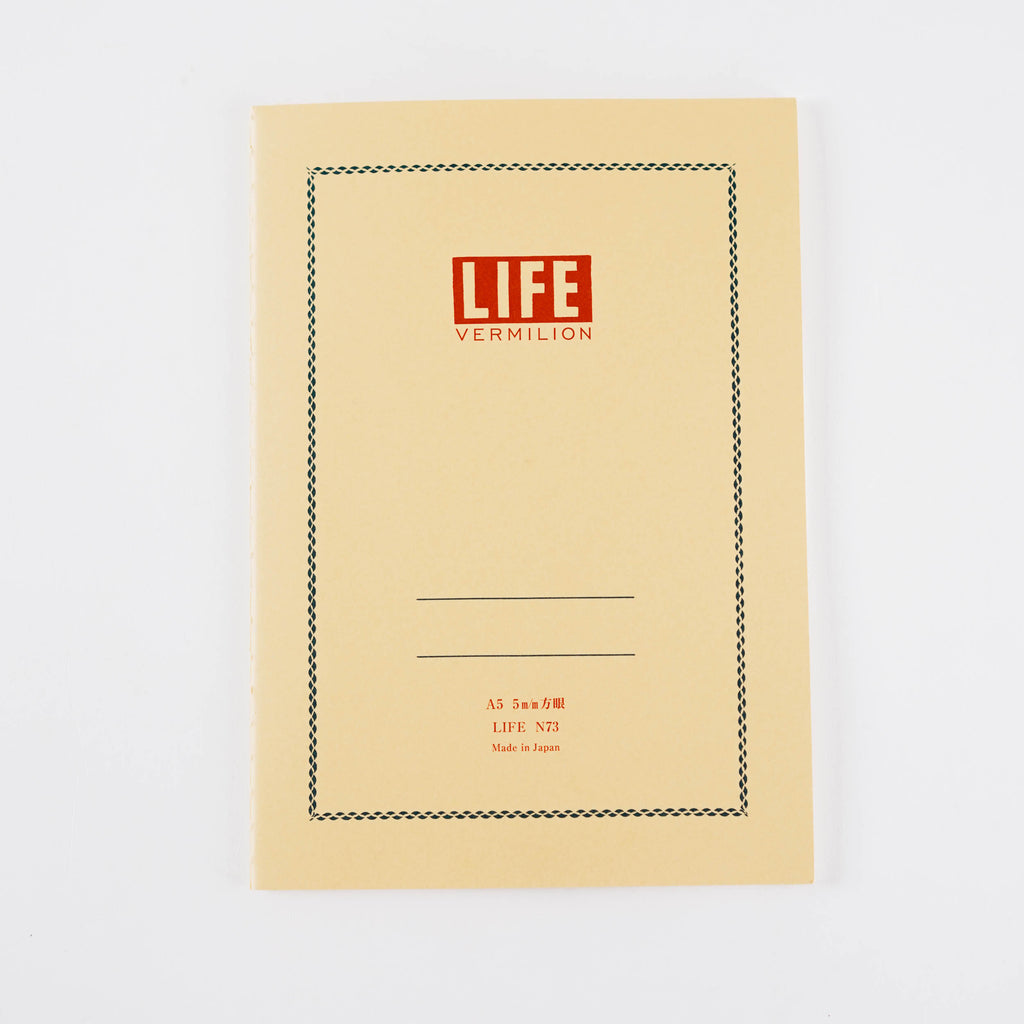 Life Notebook - Red