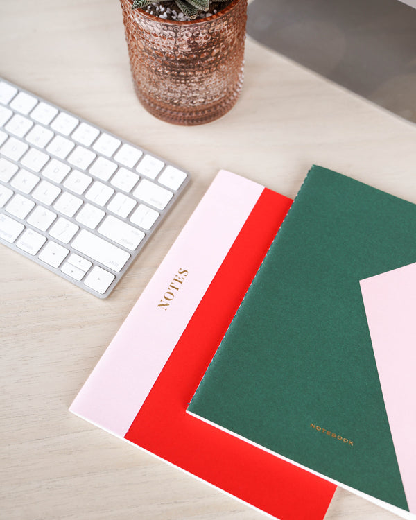 Color Block Notebook