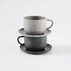 Stone Teacup - Sterling Gray