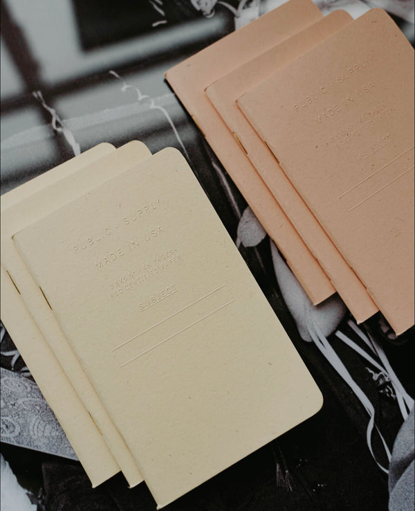 Embossed Pocket Notebook - Memo