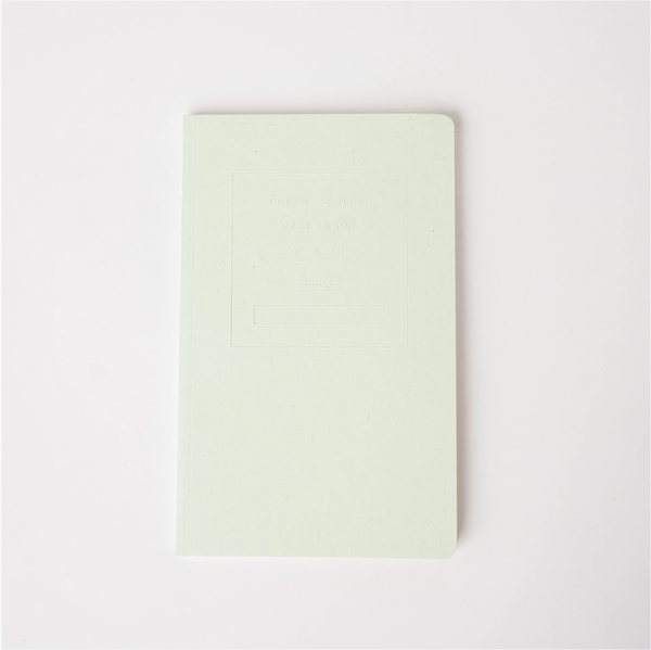 Embossed Soft Cover Notebook - Ledger