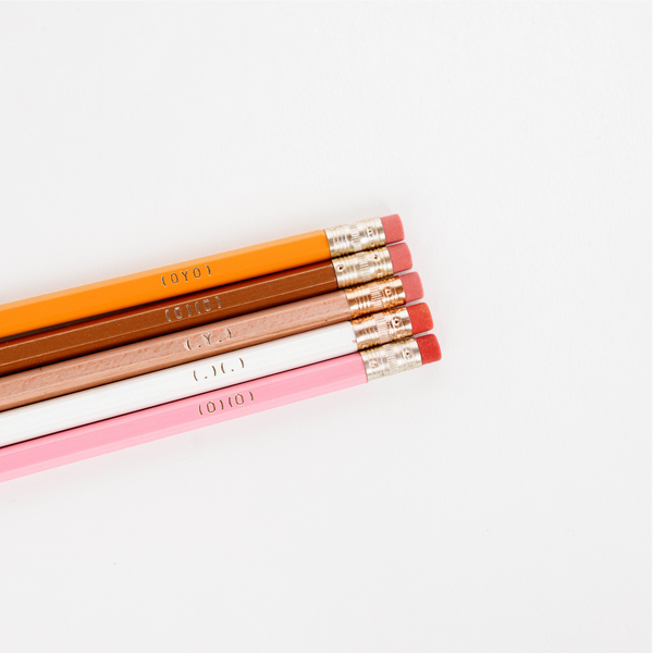 Boob Pencils - Set of 5