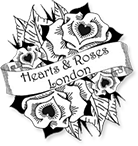 Hearts and Roses Brand Logo