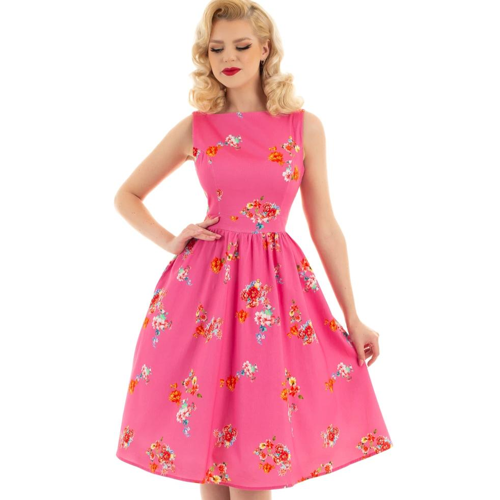 Hearts and Roses Polly Swing Dress