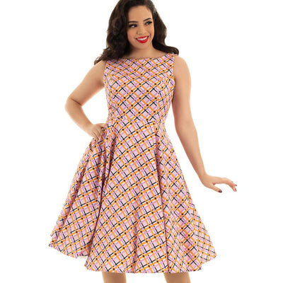 Hearts and Roses Audrina Swing Dress