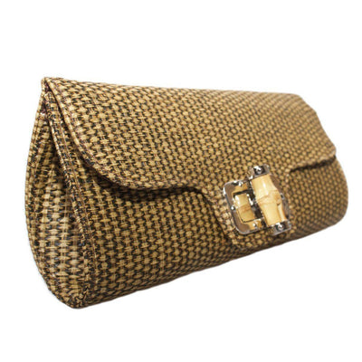 Collectif Accessories Bamboo Clutch-Vendemia