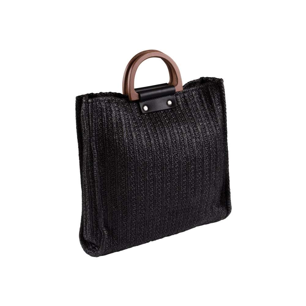 Collectif Accessories Giselle Summer Bag-Black-Vendemia