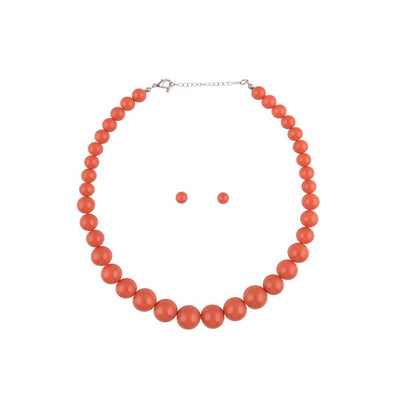 Collectif Accessories Natalie Bead Necklace Set-Vendemia