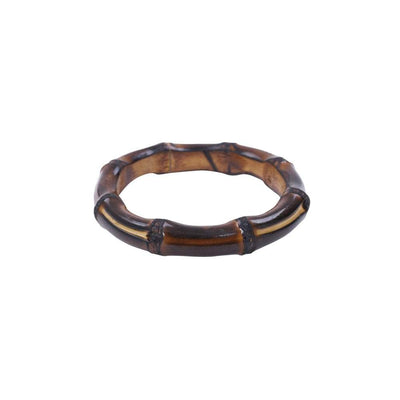 Collectif Accessories Sia Bamboo Bangle-Brown-Vendemia