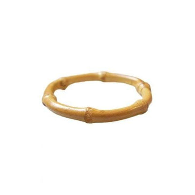 Collectif Accessories Tiki Round Bamboo Bangle-Natural-Vendemia