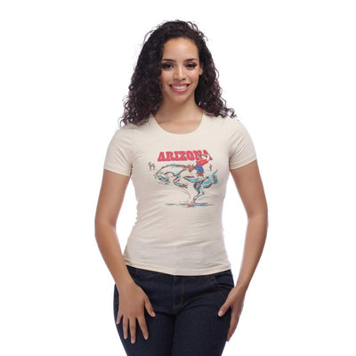 Collectif Mainline Arizona Western T-shirt-Vendemia