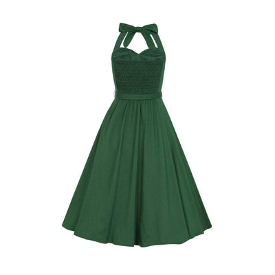 Collectif Mainline Beth Fringe Doll Dress-Vendemia