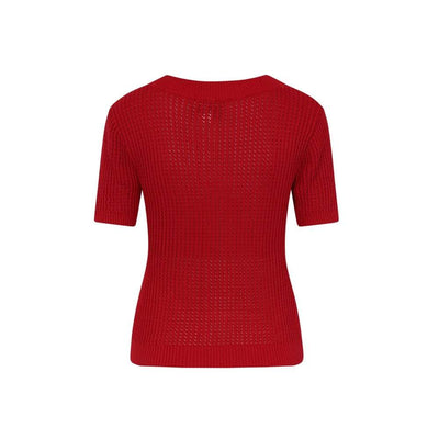 Collectif Mainline Camnila Knitted Top-Vendemia
