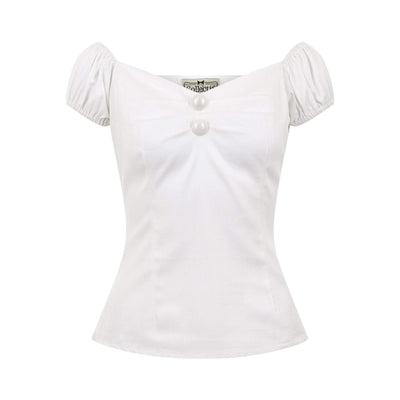 Collectif Mainline Dolores Top Plain-Vendemia