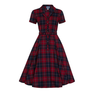 Collectif Vintage Caterina Ginsburg Swing Dress-Vendemia