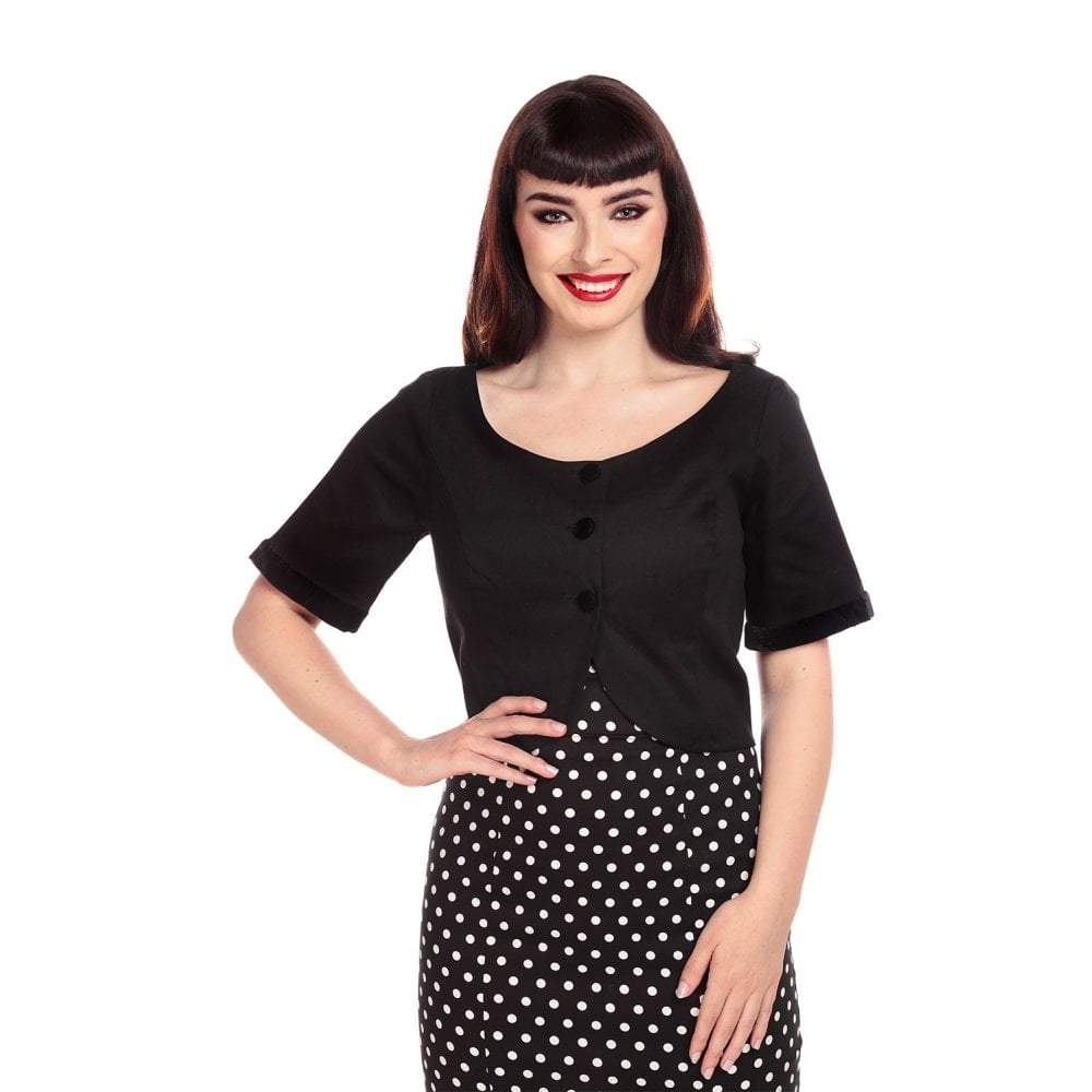 Collectif Vintage Dale Jacket-Black-Vendemia