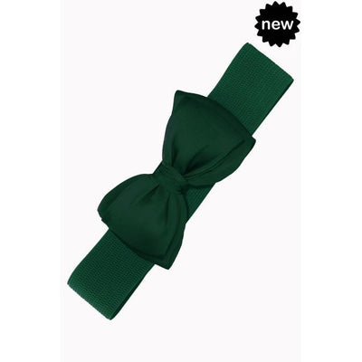 Dancing Days by Banned Bella Belt-Bottle Green-Vendemia