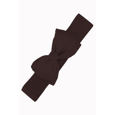 Dancing Days by Banned Bella Belt-Dark brown-Vendemia