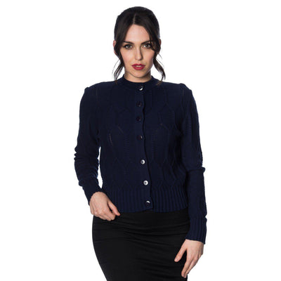 Dancing Days Midnight Daze Cardigan-Navy-Vendemia