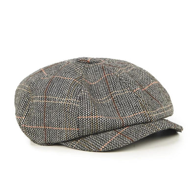 Dancing Days Paper Boy Cap-Grey-Vendemia
