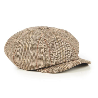Dancing Days Paper Boy Cap-Mocha-Vendemia
