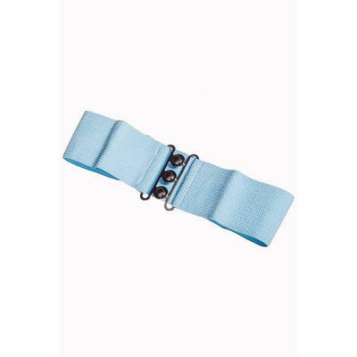 Dancing Days Vintage Stretch Belt-Baby Blue-Vendemia