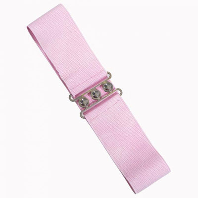Dancing Days Vintage Stretch Belt-Light Pink-Vendemia