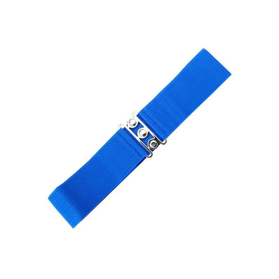 Dancing Days Vintage Stretch Belt-Royal Blue-Vendemia