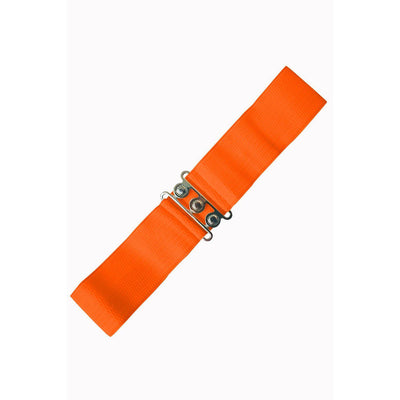 Dancing Days Vintage Stretch Belt-Orange-Vendemia