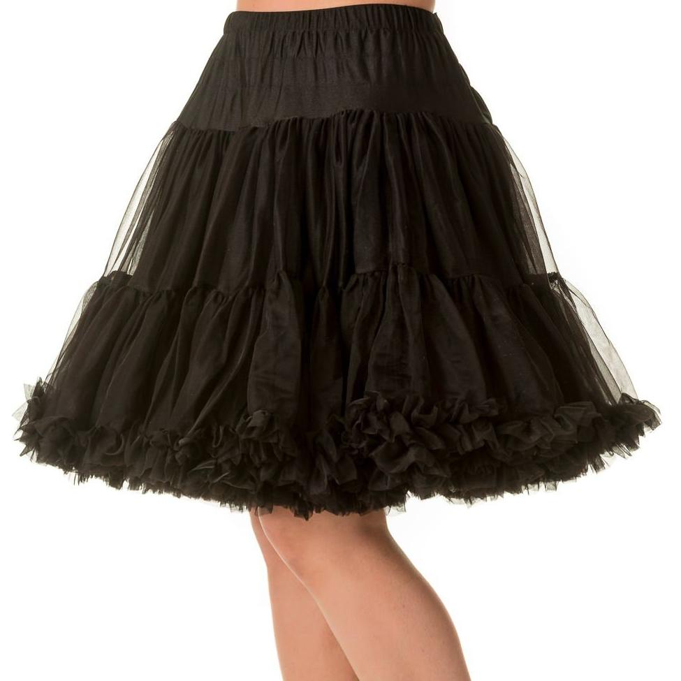 Dancing Days Walkabout Petticoat-Black-Vendemia