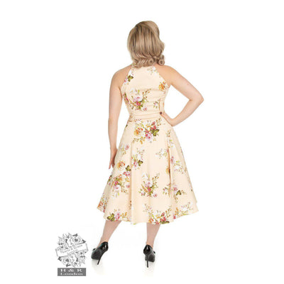 Hearts & Roses Lucinda Floral Swing Dress-Vendemia