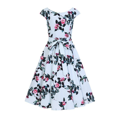Hearts & Roses Mademoiselle Swing Dress-Vendemia