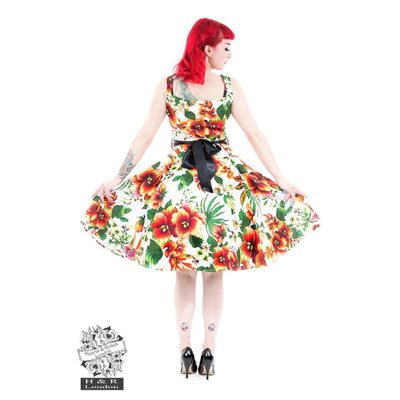 Hearts & Roses Princess Lilly Swing Dress-Vendemia