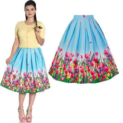 Hell Bunny Angelique 50s Skirt-Vendemia
