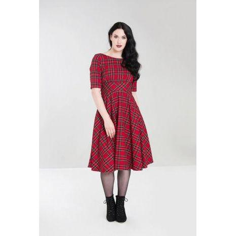 Hell Bunny Irvine 50's Dress-Vendemia