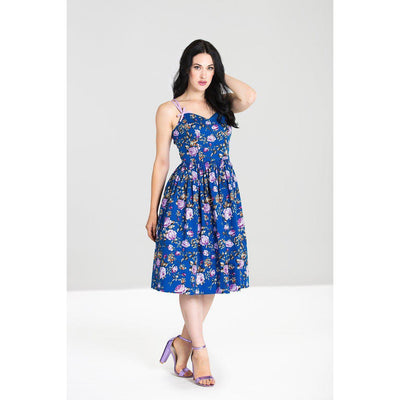 Hell Bunny Violetta 50's Dress-Vendemia