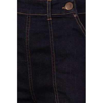 Hell Bunny Weston Denim Trousers Jeans-Vendemia