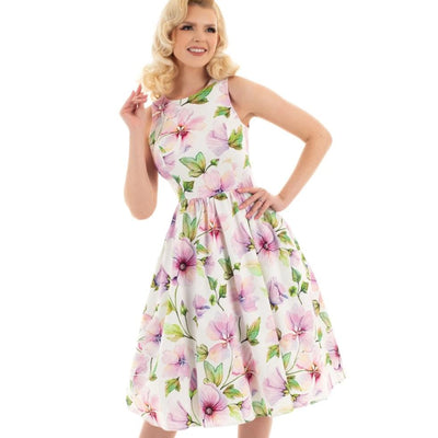 Hearts and Roses Gloria Floral Swing Dress