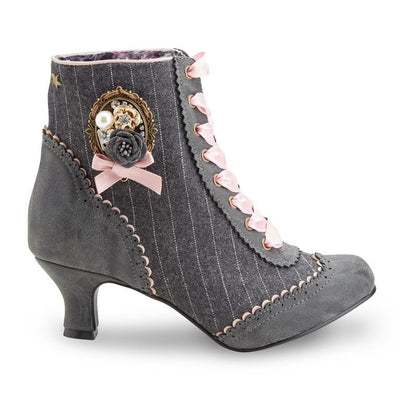Joe Browns Couture Ambrose Ankle Boot Grey-Vendemia