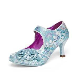 Joe Browns Couture Charlotte Shoes Blue-Blue-Vendemia