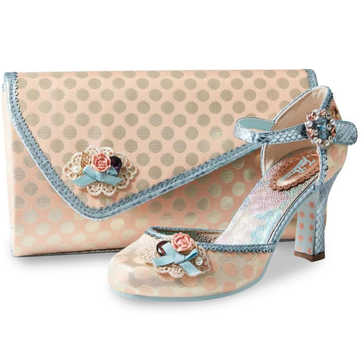 Joe Browns Couture Orphelia Shoes Peach-Vendemia