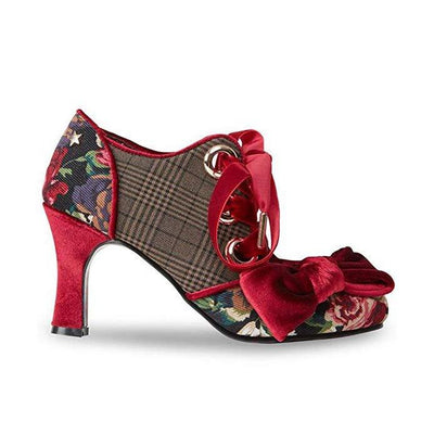 Joe Browns Couture Ruby Shoes Checked-Vendemia