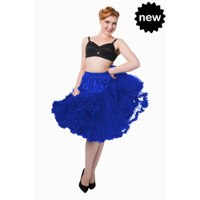 Lifeforms Petticoat by Banned-Royal Blue-Vendemia