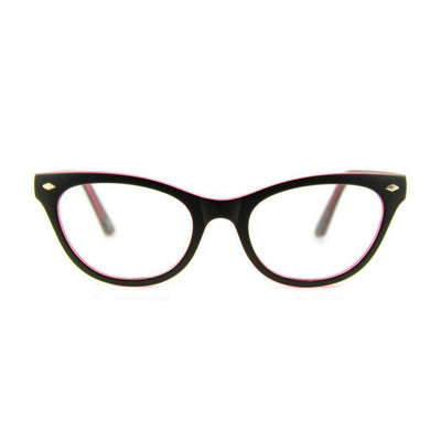 Retropeepers Belle Glasses Black Pink-Vendemia
