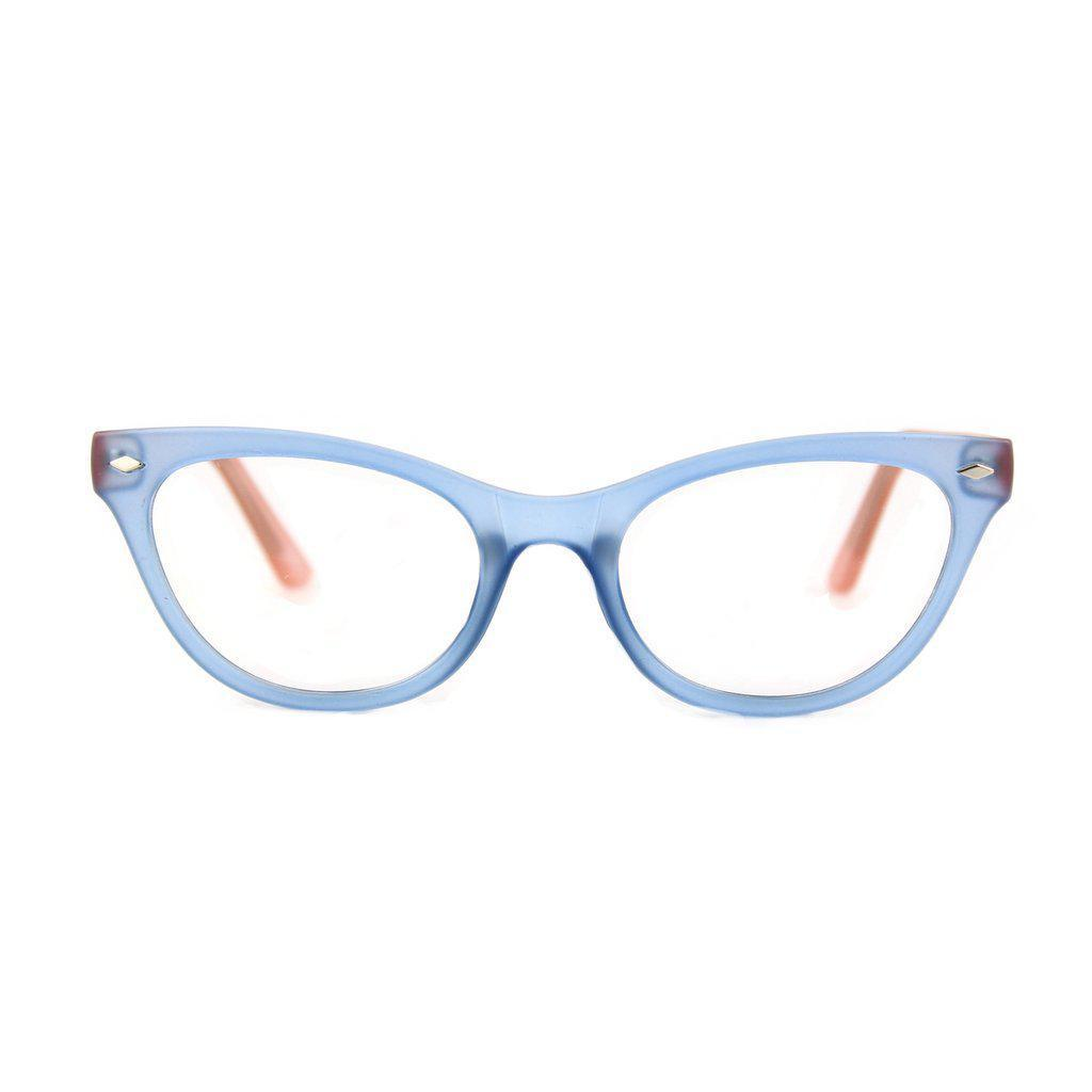 Retropeepers Belle Glasses Blue Pink-Vendemia
