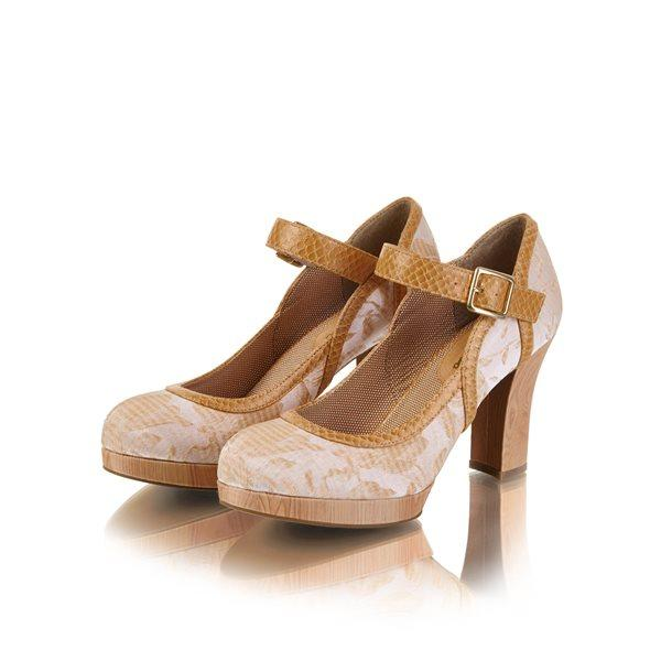 Ruby Shoe Cassandra (Sand) Shoes-Vendemia
