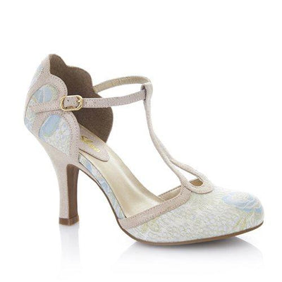 Ruby Shoo Polly (Blue) Shoes-Vendemia
